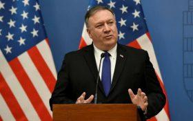 پامپئو در محفل صهیونیستها؛ فشار بر ایران را ادامه میدهیم