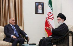 دیدار نخست وزیر جمهوری عراق با رهبر انقلاب