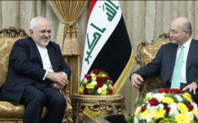 دعوت «روحانی» از رئیسجمهور عراق برای سفر به تهران