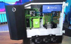 ساخت دستگاهی که همه کنسولهای بازی جهان را در خود دارد
