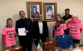 نامه عذرخواهی ۱۰هزار آمریکایی تحویل ایران شد