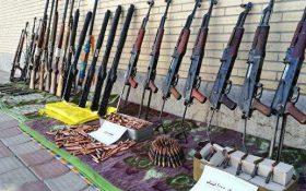 کشف دو محموله اسلحه قاچاق توسط ارتش