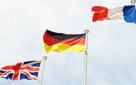 درخواست فرانسه، آلمان و انگلیس از ایران