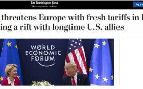 انتقاد ظریف از رویکرد تروئیکای اروپا در برابر برجام