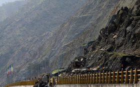 انسداد آزادراه مرزنآباد-چالوس/ترافیک سنگین در آزادراه  قزوین ـ کرج
