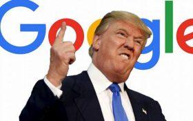 گوگل صحبتهای ترامپ در مورد طراحی ابزار ضدکرونا را تکذیب کرد