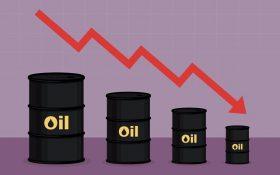 سقوط نفت جهانی به مرز ۲۵ دلار