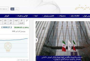 افزایش ۳۰ هزار و ۲۱۰ واحدی شاخص بورس تهران/ بورس تهران در مدار رکورد شکنی