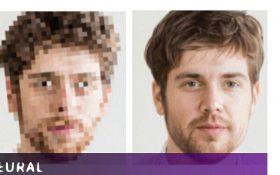 تبدیل عکس های بی کیفیت به تصاویر فوق دقیق با هوش مصنوعی
