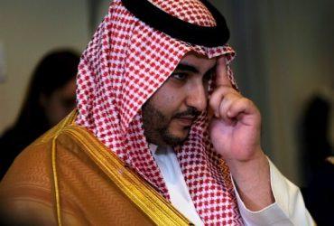 ادعای خالد بن سلمان علیه ایران در دیدار با هوک
