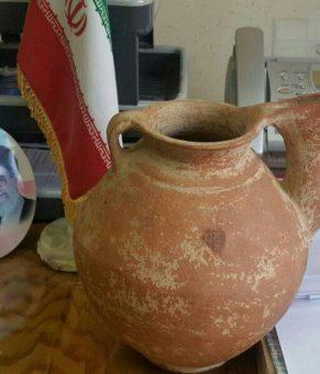 کوزه ۴۹۰۰ ساله در پایتخت کشف شد