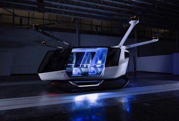 آزمایش خودروی پرندهای که از ۱۸ روتور برای حمل یک مسافر استفاده میکند
