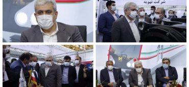 با حضور معاون علمی و فناوری رئیس جمهوری؛ تجهیزات واگن ملی «ایران ساخت» رونمایی شد