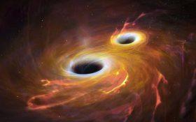 تلسکوپها لحظه ادغام دو سیاهچاله را شکار کردند