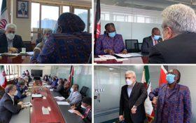 دیدار معاون علمی و فناوری رئیسجمهوری و وزیر صنعت و تکنولوژی کنیا؛ ستاری: همکاریهای فناورانه میان شرکتهای ایرانی و کنیایی شکل خواهد گرفت