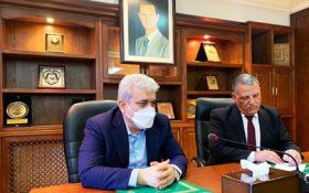دیدار معاون علمی و فناوری رییس جمهوری و وزیر کشاورزی سوریه؛ ستاری: فناوریهای مدرن ایرانی در حوزه کشاورزی را به سوریه انتقال میدهیم