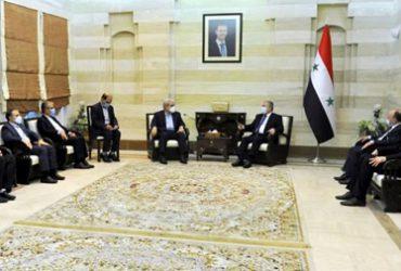 پرچم دیپلماسی فناوری بر بلندای محور مقاومت؛ معاون علمی و فناوری رئیس جمهوری و نخستوزیر سوریه دیدار کردند؛ ستاری: آماده انتقال تجربیات زیستبوم نوآوری ایران به منطقه منا هستیم