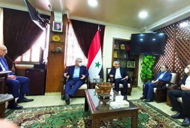 معاون علمی و فناوری رئیس جمهوری و وزیر صنعت سوریه دیدار کردند؛ از فناوری ایرانی در سوریه استقبال میشود