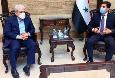 معاون علمی و فناوری رییس جمهوری و وزیر بهداشت سوریه دیدار کردند؛ ستاری: صادرات فاکتور ۷ را به سوریه آغاز کردیم
