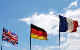 ابراز نگرانی تروئیکای اروپا از آغاز غنی سازی ۶۰ درصدی در ایران