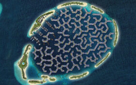 تلاش برای ساخت اولین شهر شناور جهان