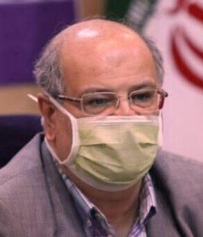 زالی: وضعیت کرونایی تهران تا آخر هفته آینده قرمز است
